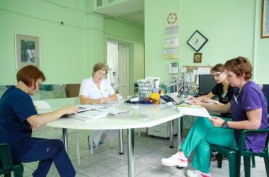 Рабочий процесс в родильном отделении